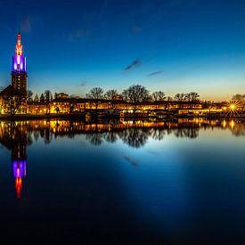 Potsdam Skyline an der Havel zur bauen Stunde von Frank Herrmann