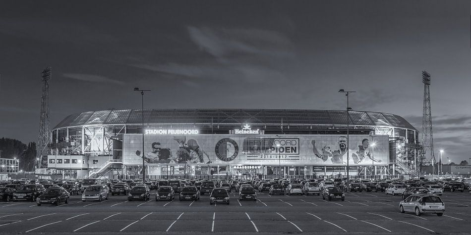Feyenoord Rotterdam stadion de Kuip 2017 - 3  van Tux Photography