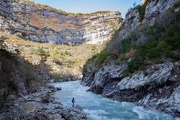 Gorges du Verdon in de Provence in Frankrijk van Rosanne Langenberg