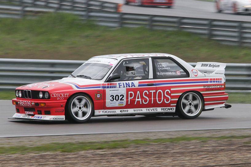 BMW M3 e30 op het circuit van Menno Schaefer