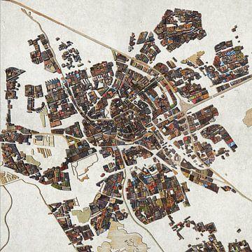 Sloophoutkaart Groningen