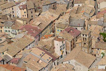 Die Altstadt von Castellane France von Marianne Jonkman