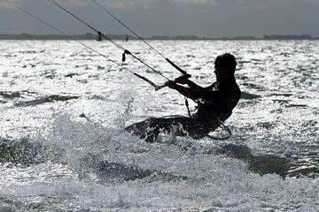 Kitesurfer von Petra Slingenberg