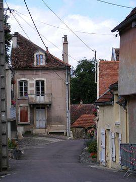 dorpje in Frankrijk van Mirjam van Ginkel