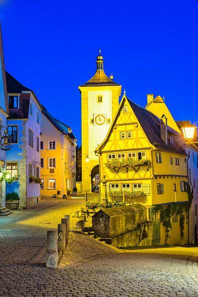 Rothenburg ob der Tauber van Walter G. Allgöwer