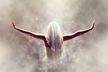 Bruid fantasy van PAM fotostudio