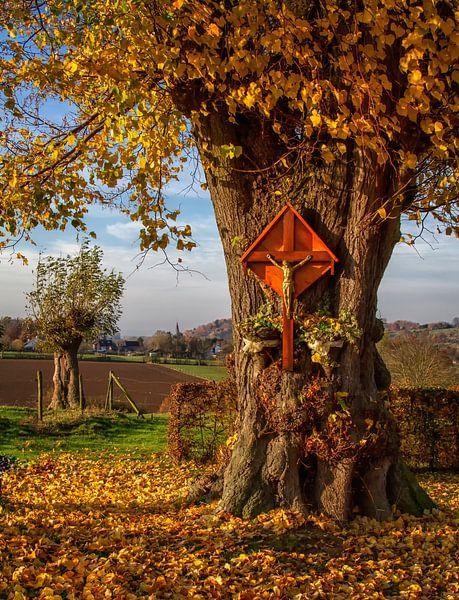 Herfst in Zuid-Limburg van John Kreukniet
