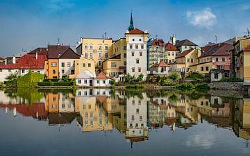 Stadtansicht mit Spiegelung von Jens Hertel