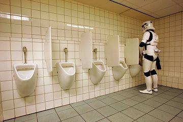 Ein Stormtrooper ist nur ein Mensch. von Gerrit de Heus