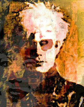Andy Mix Andy Warhol Andy Warhol Pop Art van Leah Devora