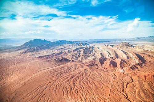 Landschap van de Grand Canyon west vanuit de lucht