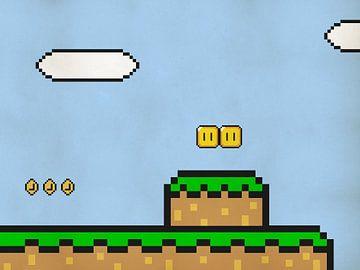 Mario's World - Jeux rétro sur ordinateur - Pixel Art