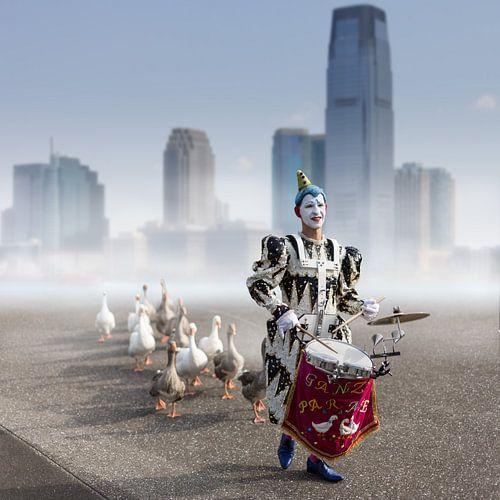 Goose parade sur