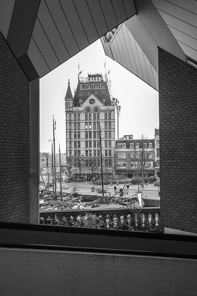 Een doorkijkje naar het Witte Huis in Rotterdam van MS Fotografie