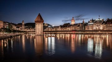 Luzerne in de avond van Achim Thomae