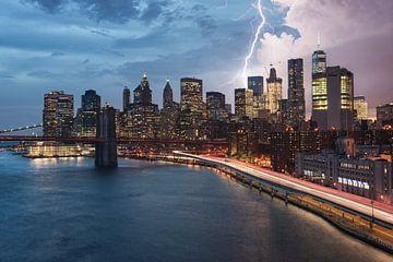 New Yorkse onweersbui van Stefan Schäfer