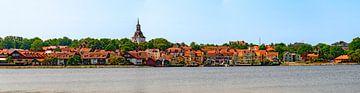 Panorama von Västervik von Leopold Brix