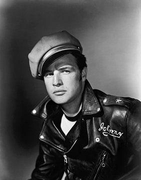 Marlon Brando, The Wild One 1953 von Bridgeman Images