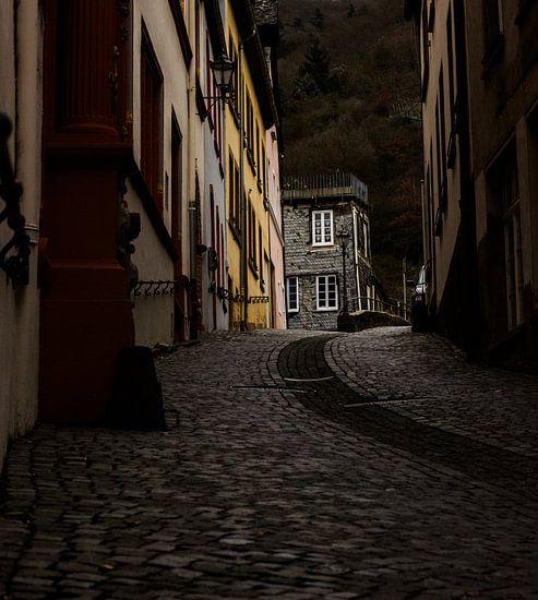 Straat in duitsland van Robin Steen
