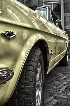 Ford Mustang (1966) van Jelte Bosma
