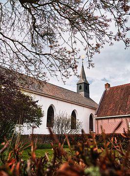 De kerk in Bourtange van SA Fotografie
