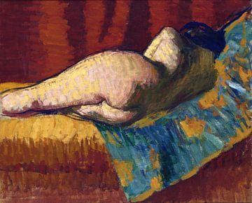Nackt liegend, Roderic O'Conor von Atelier Liesjes