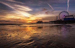 Santa Monica Zonsondergang van