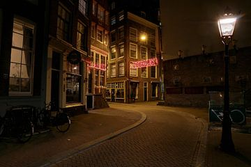 Zeedijk Amsterdam van FotoBob