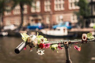 Lastenfahrrad mit Blumen von Easycopters