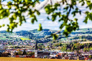 Ausblick auf Ottensheim von Hermann Kollinger