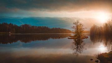 Schweden Sonnenuntergang