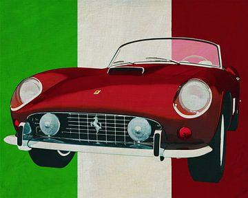 Ferrari 250GT Spyder California 1960 de Italiaanse sportwagen voor de elite van Jan Keteleer