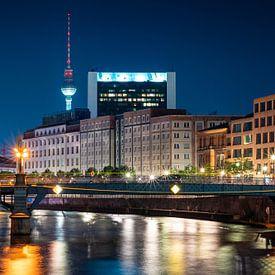 Nacht in Berlin von Martin Wasilewski