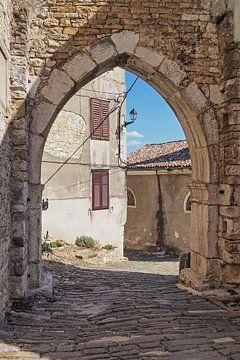 Motovun, Kroatien von Katrin May