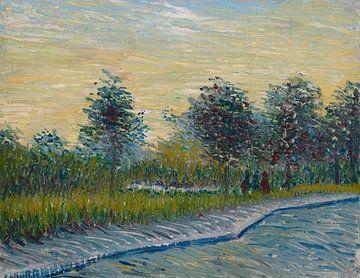 Weg im Voyer d'Angerson Park in Asnieres, Vincent van Gogh