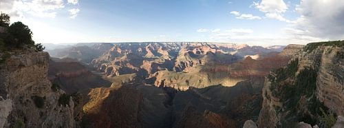 Grand Canyon evening view