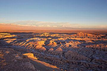 Cordillera del Sal, San Pedro de Atacama, Region Antofagasta, Chile von Tjeerd Kruse