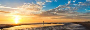 Sommer Sonnenuntergang Niederländischen Küste von eric van der eijk