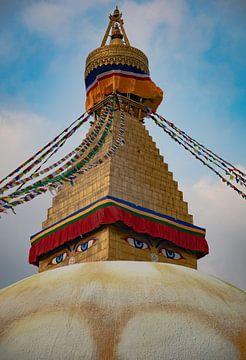 stupa Bouddhanath von E. Luca