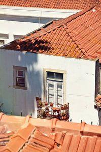 Balkon in Lissabon