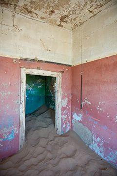 Namibië, Kolmanskop van Jeannette Kliebisch