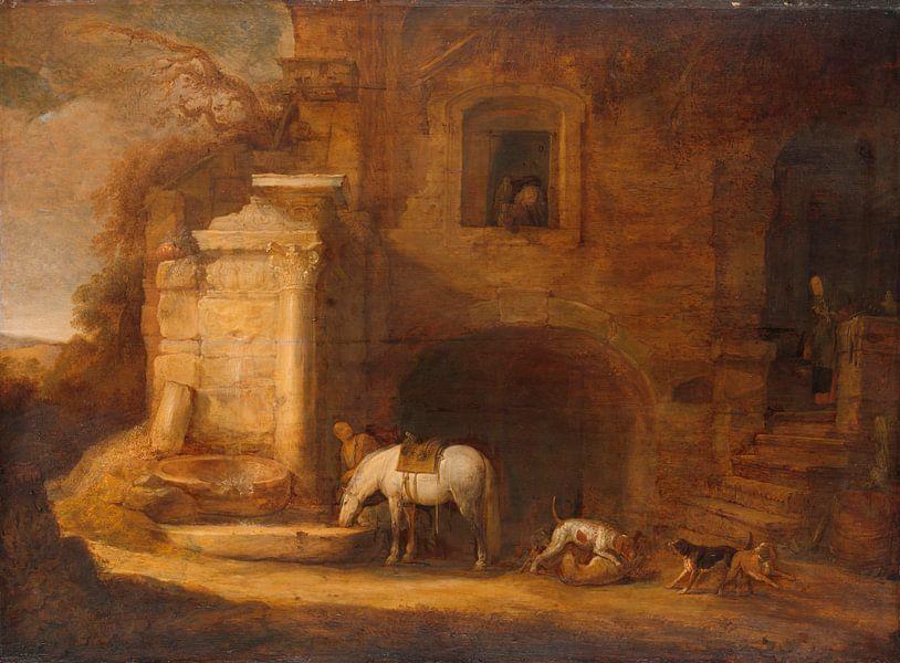 Rückkehr des Falkners, Simon de Vlieger von Meesterlijcke Meesters