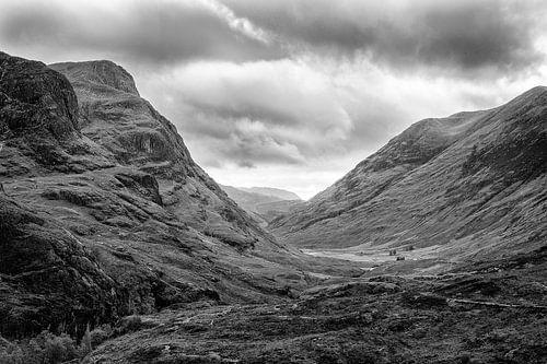 Uitzicht op Glencoe, Schotland