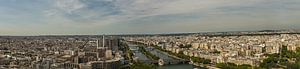 Panorama van boven van de Seine