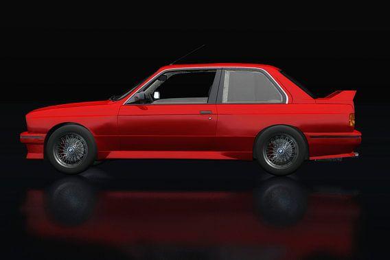 BMW M3 E-30 1991 Zijaanzicht