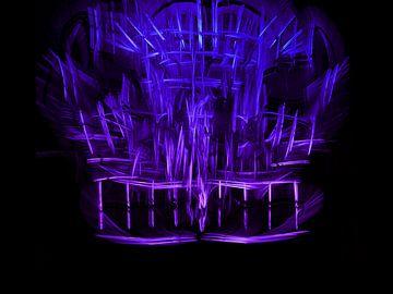 Glowstick structure lightpainting sur Rick Verdonschot