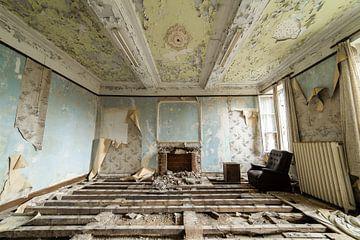 Wohnzimmer ohne Boden von Twan Thimister