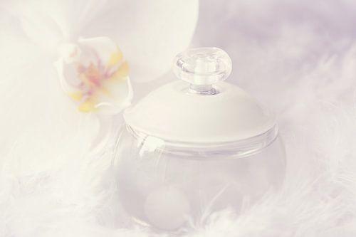 A bottle of perfume van