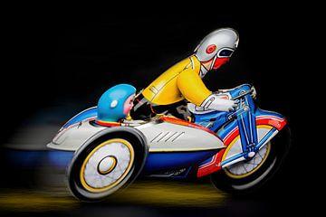motorfiets met zijwagen 2767A von Rudy Umans