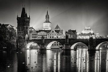 Prag - Karlsbrücke von Alexander Voss